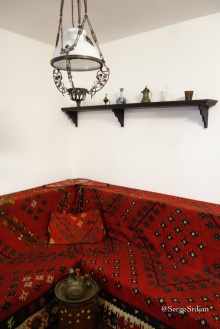 Interior of Manak's house