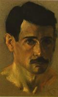 Crnilović's autoportrait